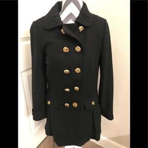Juicy Couture Double Breasted Wool Coat M